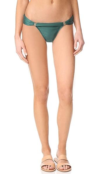 ViX Swimwear Solid Bia Tube Full Bottoms