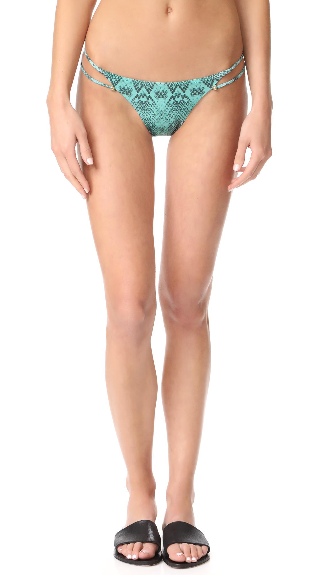 ViX Swimwear Snake Piercing Bikini Bottoms