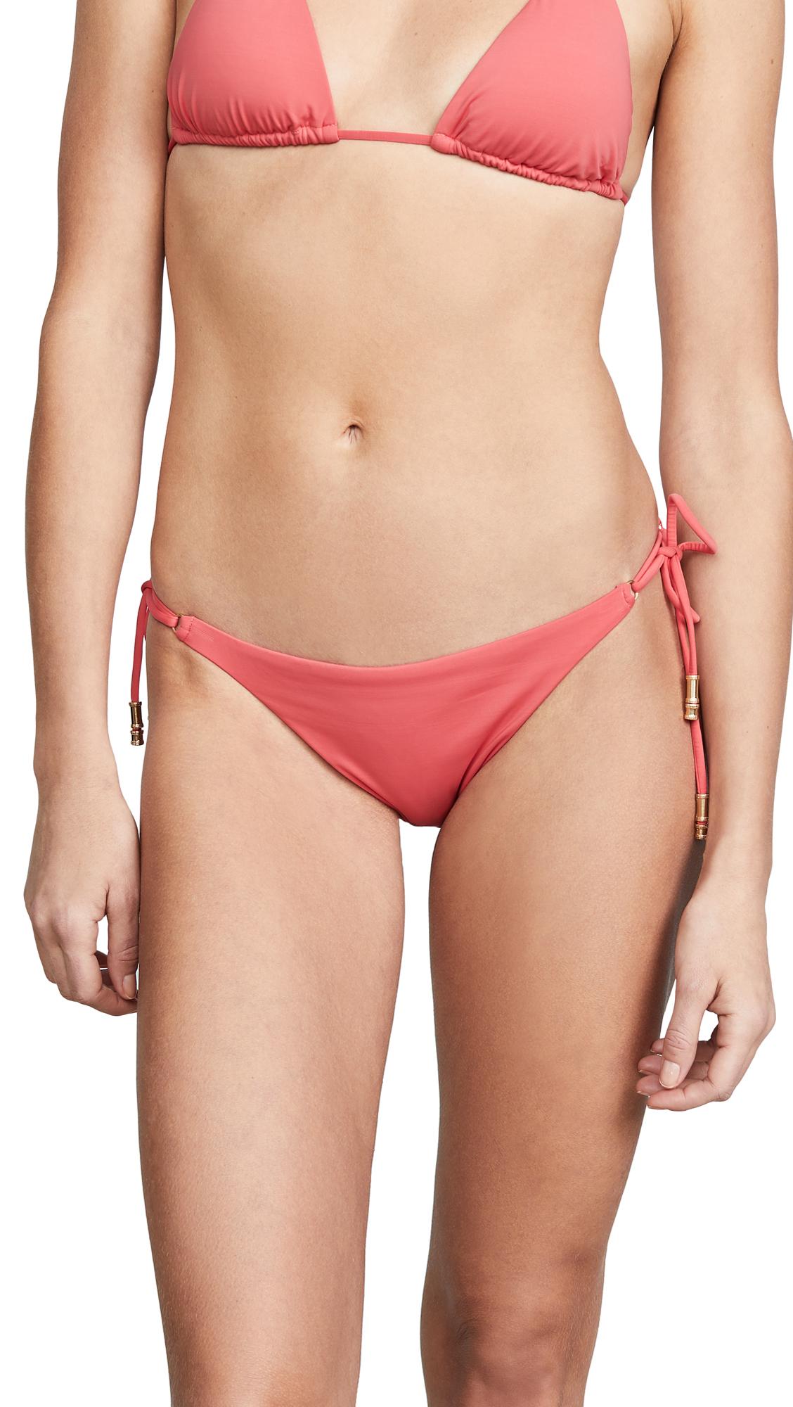 ViX Swimwear Shaye Long Tie Bottoms In Watermelon