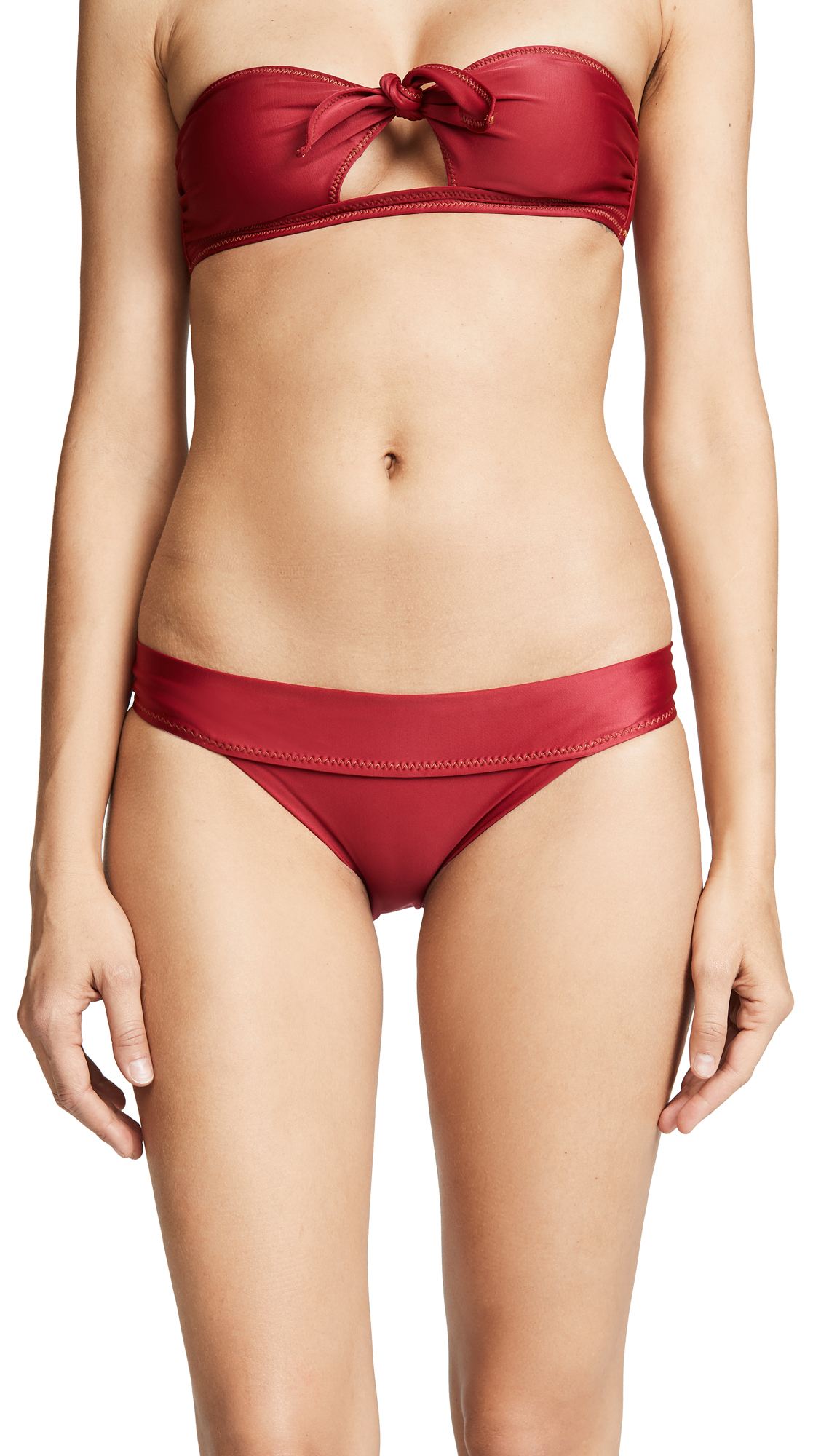 ViX Swimwear Full Band Bikini Bottoms In Divino