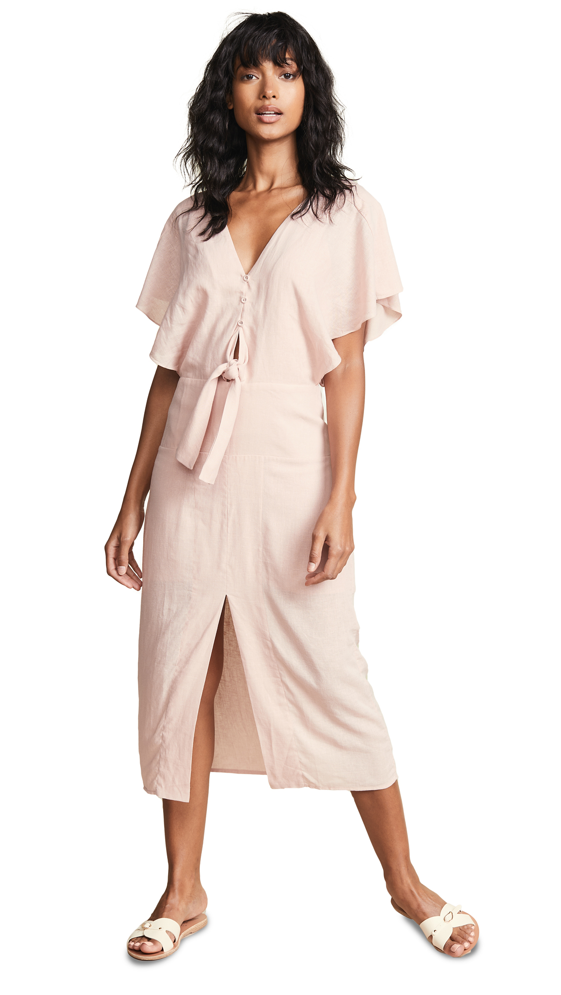 ViX Swimwear Romance Ali Midi Dress In Pink