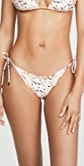 ViX Swimwear Ripple Tie Full Bikini Bottoms