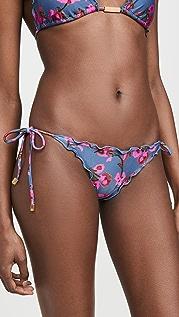 ViX Swimwear Fiore Ripple Bikini Bottoms