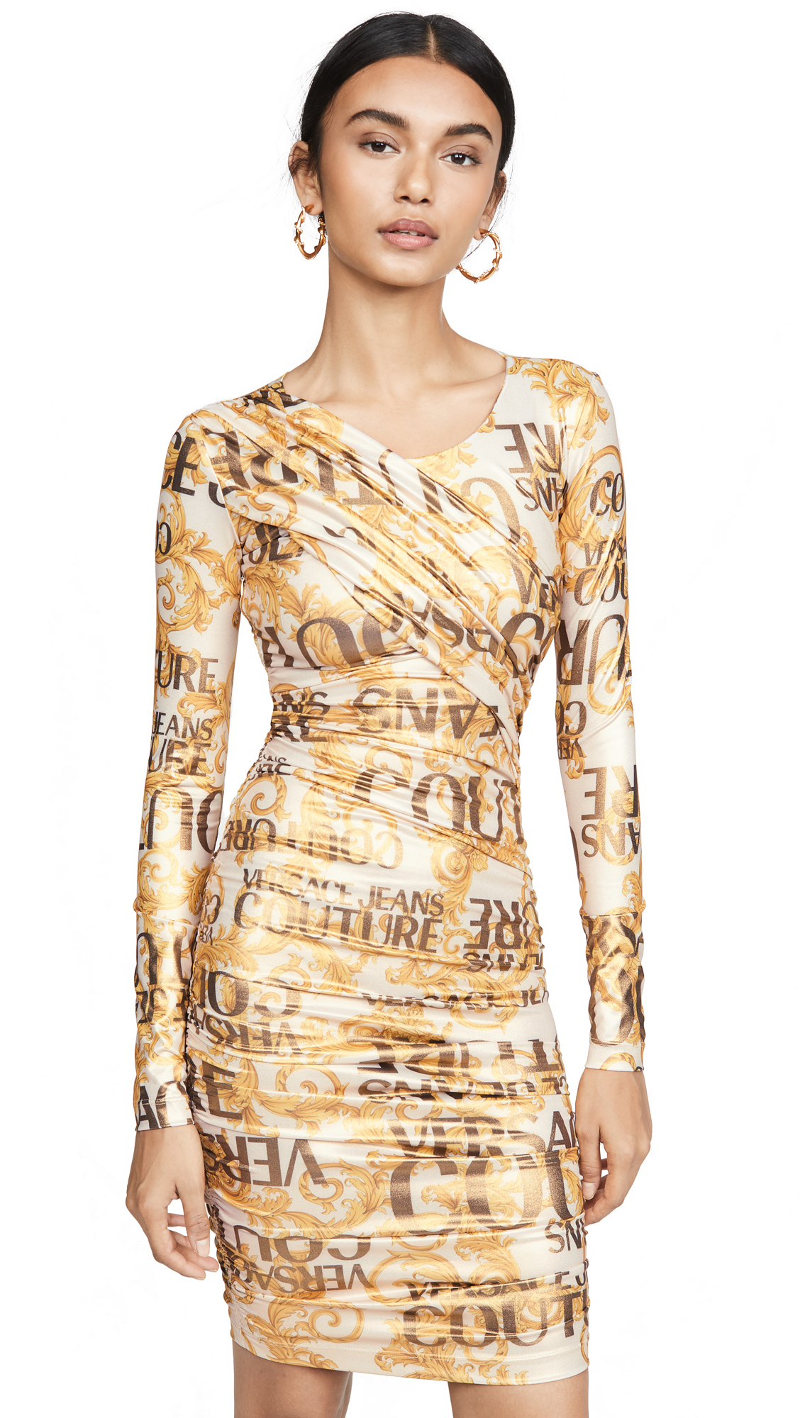 Versace Jeans Couture Versace Long Sleeve Dress - 40% Off Sale