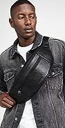 Versace Jeans Couture Chevron Logo Belt Bag