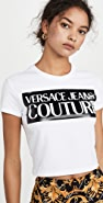 Versace Jeans Couture 徽标 T 恤