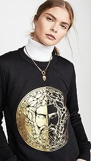 Versace Jeans Couture Толстовка с изображением лица