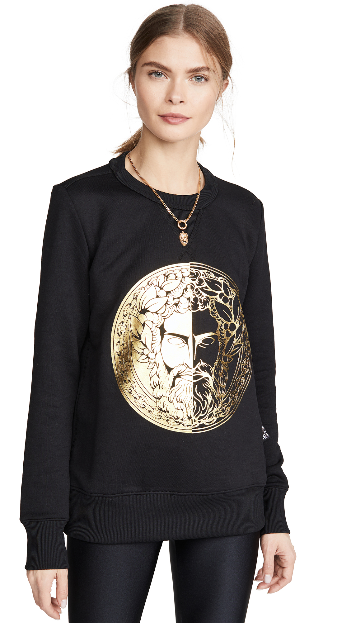 Buy Versace Jeans Couture online - photo of Versace Jeans Couture Face Sweatshirt