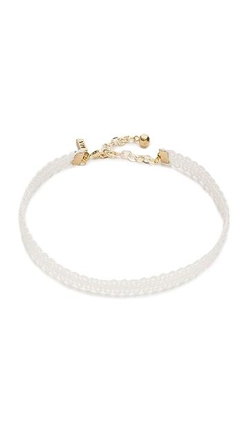 Vanessa Mooney Lace Choker Necklace