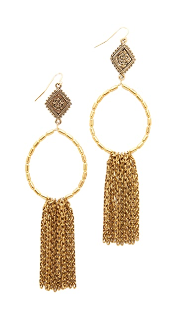 Vanessa Mooney The Hailey Hoop Earrings