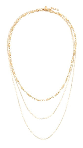 Vanessa Mooney The Luce Necklace - Gold