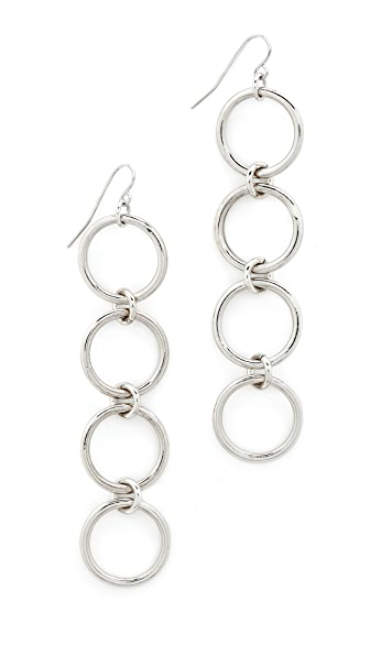 Vanessa Mooney The Kiley Earrings - Silver