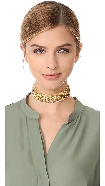 Vanessa Mooney The Fire Tiger Choker Necklace