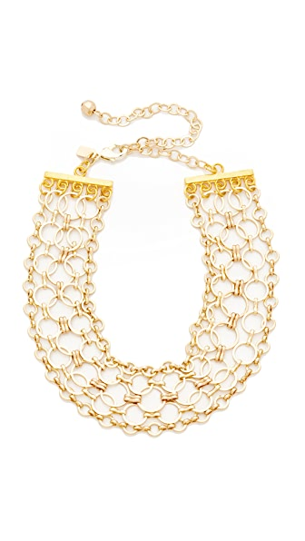 Vanessa Mooney The Belinda Choker Necklace - Gold