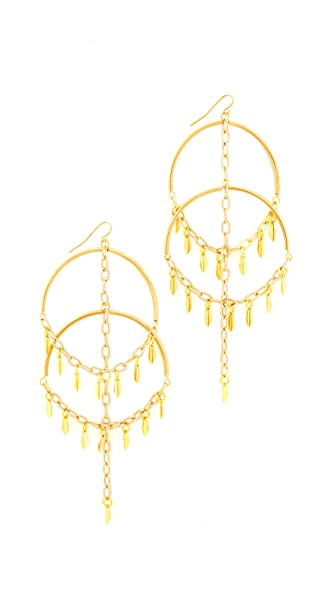 Vanessa Mooney The Cannes Earrings - Gold