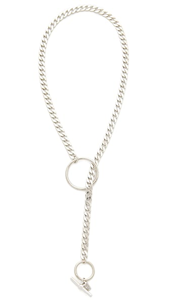 Vanessa Mooney The My Way Necklace In Silver