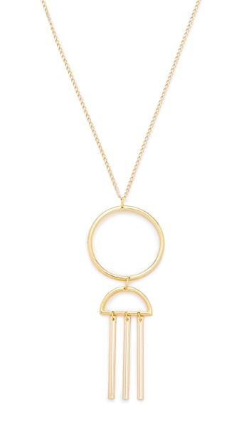 Vanessa Mooney The Illuminate Necklace - Gold