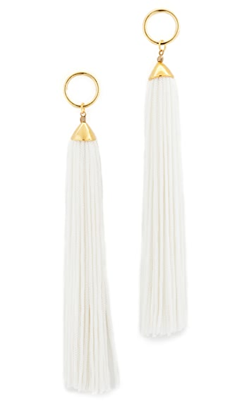 Vanessa Mooney The Firefly Earrings - Ivory