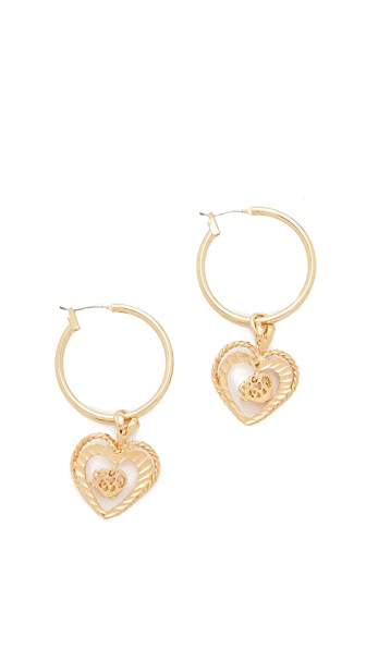 Vanessa Mooney The Adorar Earrings - Gold