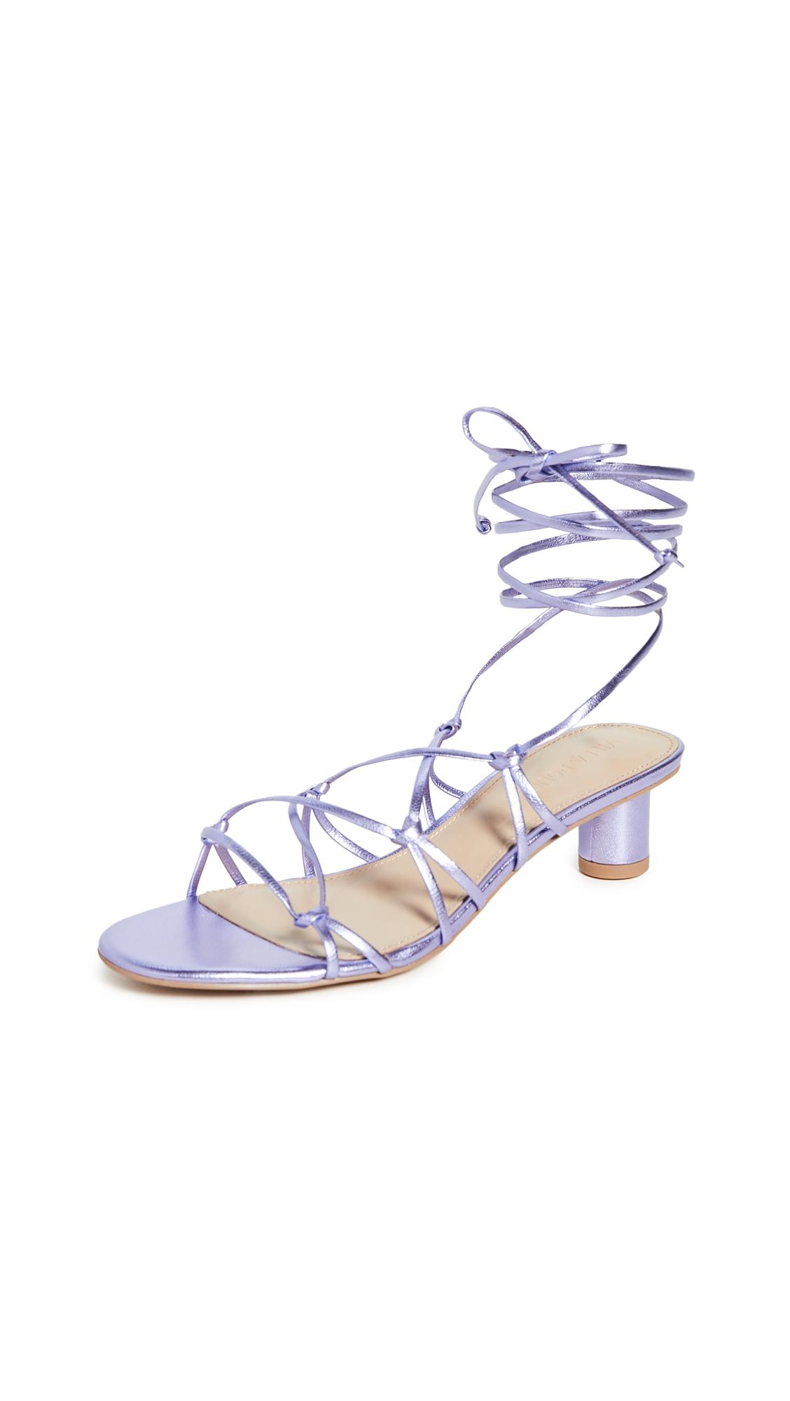 Buy Villa Rouge Cashmere Sandals online, shop Villa Rouge