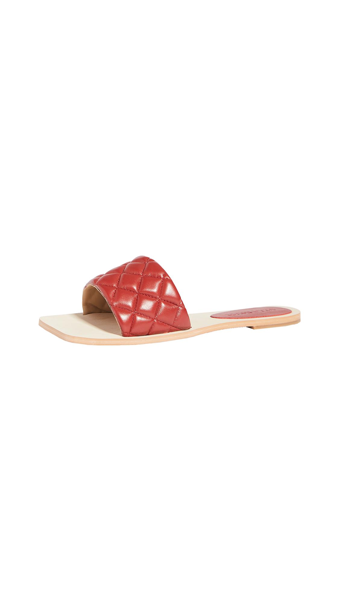 Buy Villa Rouge Beach Slides online, shop Villa Rouge