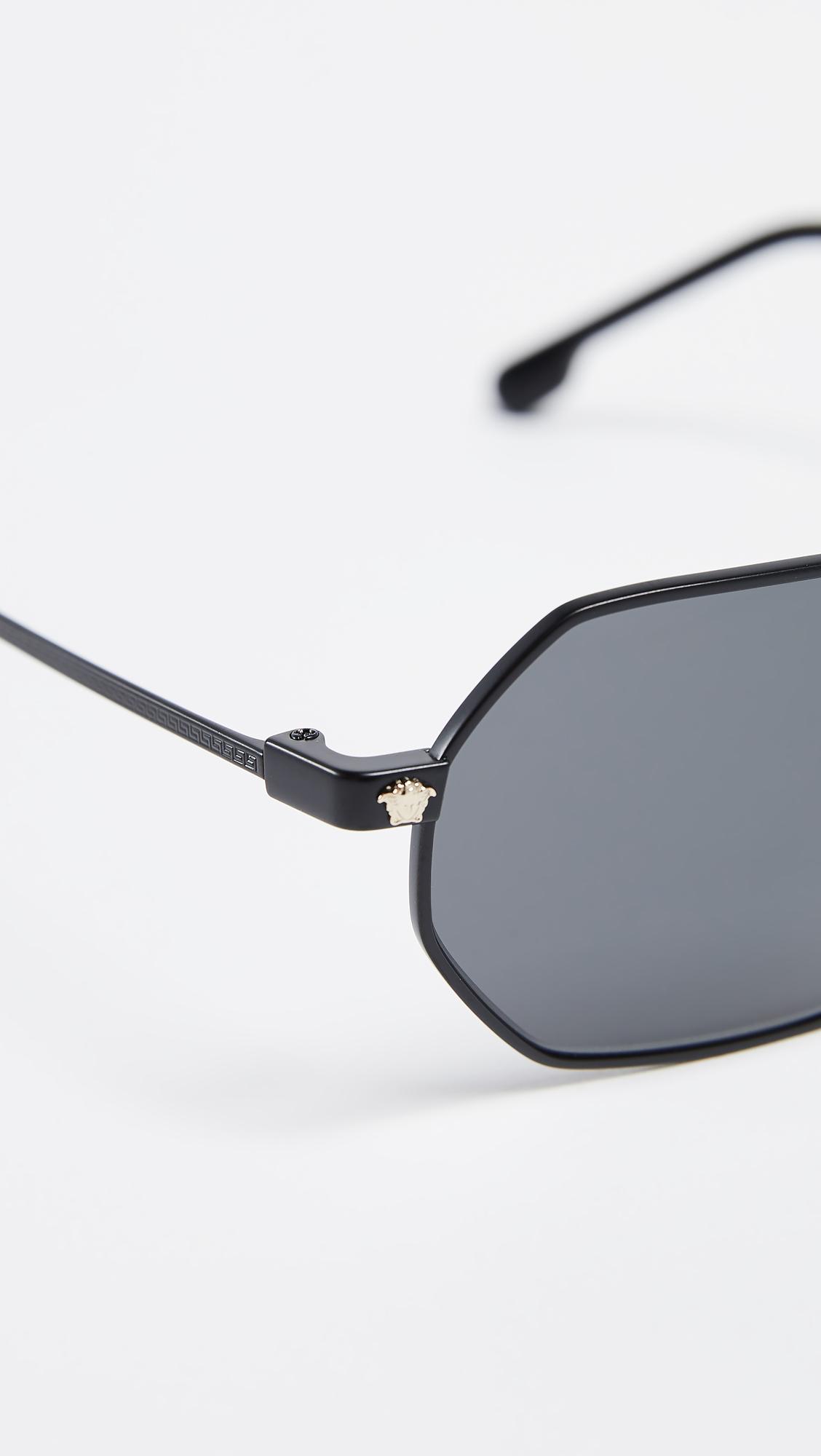 88cc36a0305 Versace Vintage Octagon Sunglasses