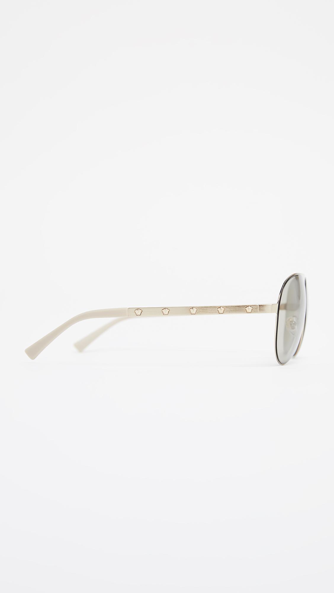 dc8e38eae16 Versace Medusina Pilot Sunglasses