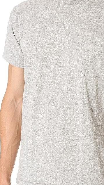 Velva Sheen 2 Pack Short Sleeve Pocket Tee