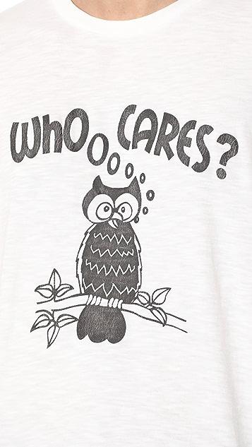 Velva Sheen Who Cares? Tee
