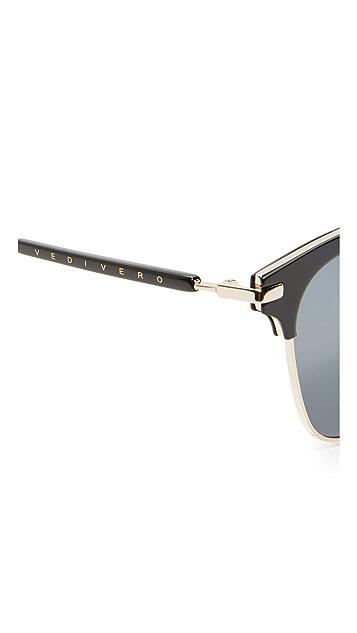 Vedi Vero Classic Square Club Sunglasses