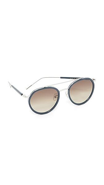 Vedi Vero Round Rim Aviator Sunglasses