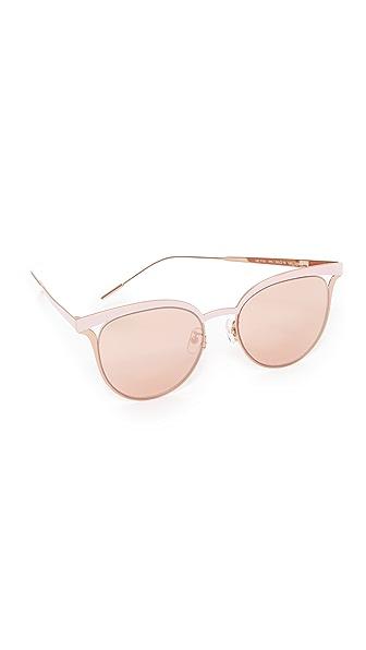 Vedi Vero Vented Sunglasses In Pink/Rose