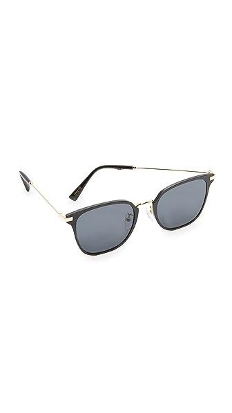 Vedi Vero Vedi by Vedi Vero Square Sunglasses - Black/Black
