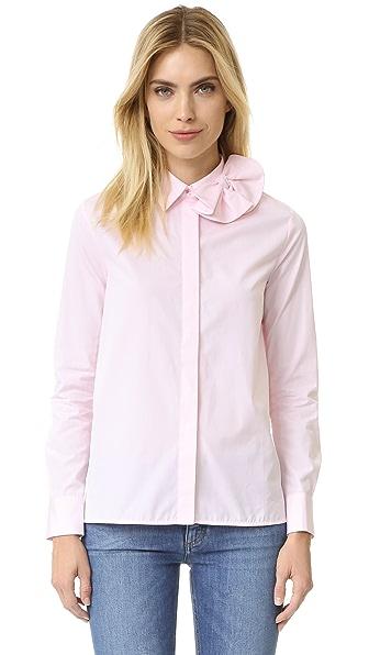 Victoria Victoria Beckham Single Bow Shirt