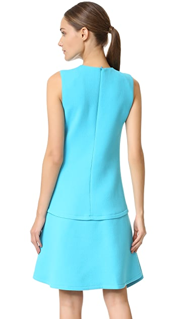Victoria Victoria Beckham Draped Skirt Dress
