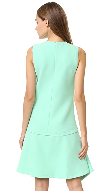 Victoria Victoria Beckham Draped Skirt Dress