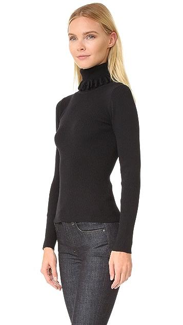 Victoria Victoria Beckham Multi Loop Roll Neck Sweater