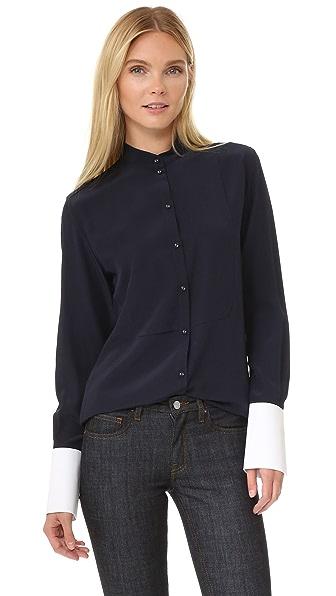 Victoria Victoria Beckham Рубашка со структурированными манжетами