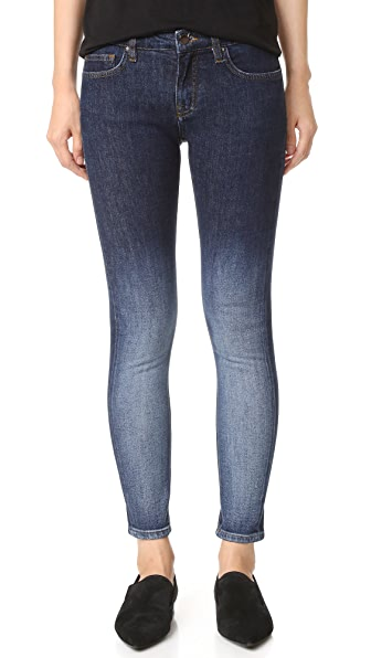 Victoria Victoria Beckham Узкие джинсы до щиколотки