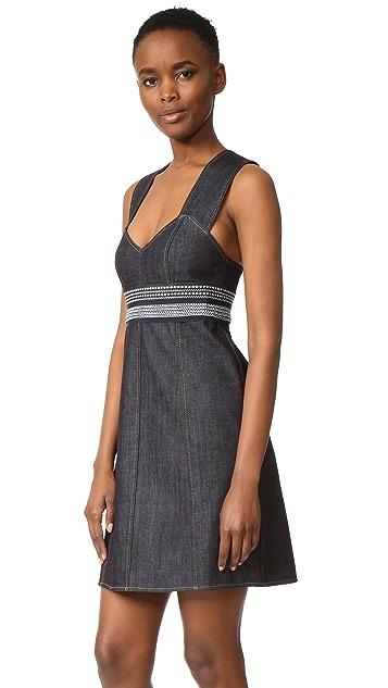 Victoria Victoria Beckham Sweetheart Sheath Dress