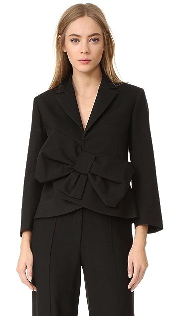 Victoria Victoria Beckham Tux Bow Jacket
