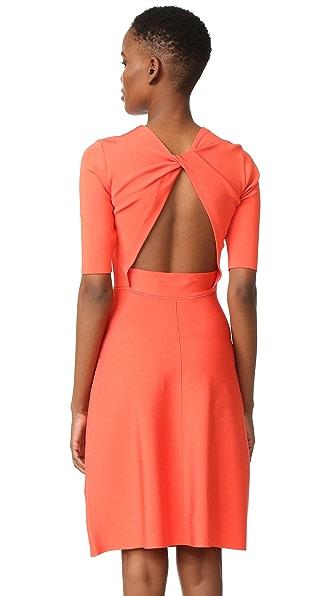 Victoria Victoria Beckham Платье с открытой спиной и перекрученным элементом