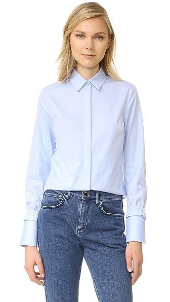 Victoria Victoria Beckham Smocked Cuff Shirt