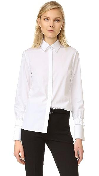 Victoria Victoria Beckham Рубашка с присборенными манжетами
