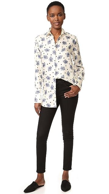 Victoria Victoria Beckham Printed Shirt