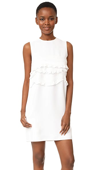 Victoria Victoria Beckham Wave Appliqué Shift Dress