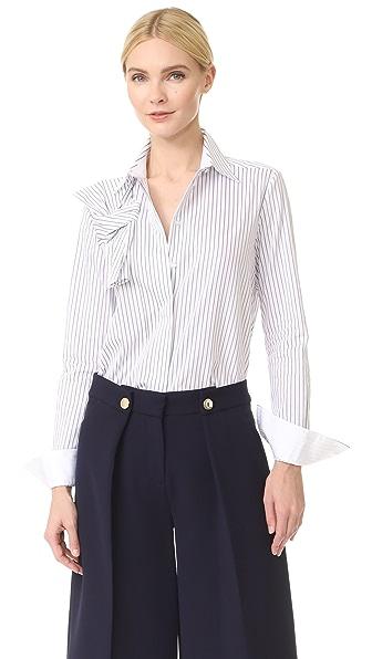Victoria Victoria Beckham Knot Front Shirt