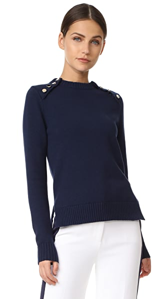 Victoria Victoria Beckham Button Front Sweater