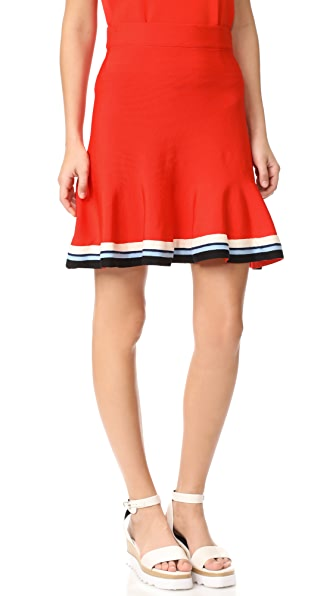 Victoria Victoria Beckham Pull On Skirt