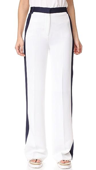 Victoria Victoria Beckham Свободные брюки к смокингу